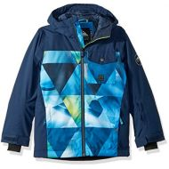 Quiksilver Boys Big Mission Block Youth 10k Snow Jacket