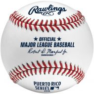 Cleveland Indians vs. Minnesota Twins Rawlings 2018 Puerto Rico Series Dueling Baseball - No Size