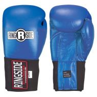 RINGSIDE Ringside Competition Safety Gloves - Hook & Loop (Blue, 10-Ounce)