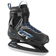 Bladerunner Ice by Rollerblade Zephyr Mens Adult Ice Skates, Black and Blue, Recreational, Ice Skates