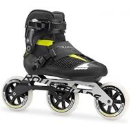 Rollerblade Endurace Elite 110 Unisex Adult Fitness Inline Skate, Black and Lime, Premium Inline Skates