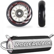 Rollerblade Wheelkit 72mm  80A + SG5 & Headband Bundle