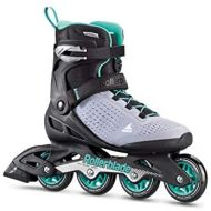[아마존베스트]Rollerblade Zetrablade Elite Womens Adult Fitness Inline Skate, Black and Powder Blue, Performance Inline Skates