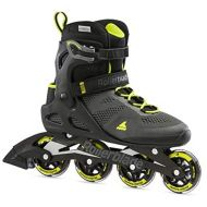 [아마존베스트]Rollerblade Macroblade 80 Mens Adult Fitness Inline Skate, Black and Lime, Performance Inline Skates