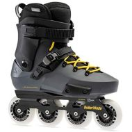 [아마존베스트]Rollerblade Twister Edge Mens Adult Fitness Inline Skate, Anthracite and Yellow, High Performance Inline Skates