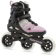 [아마존베스트]Rollerblade Macroblade 110 3WD Womens Adult Fitness Inline Skate, Grey and Pink, Performance Inline Skates