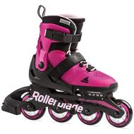 [아마존베스트]Rollerblade Microblade Girls Adjustable Fitness Inline Skate, Pink and Bubble Gum, Junior, Youth Performance Inline Skates