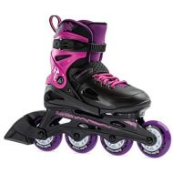[아마존베스트]Rollerblade Fury Girls Adjustable Fitness Inline Skate,Black and Pink, Junior, Youth Performance Inline Skates