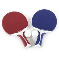 STIGA Flow Outdoor 2-Player Table Tennis Set Includes Two Outdoor Rackets and Two Outdoor Balls