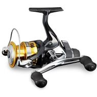 SHIMANO Sahara Rear Drag Spinning Fishing Reel with Doulbe Handle, Model 2018