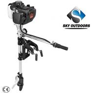 Sky 4 stroke 1.4P inflatable outboard motor outboard engine family boat motor ship