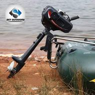 Sky Superior Engine Water Cooling System Outboard Motor Two-strok Inflatable Fishing Boat