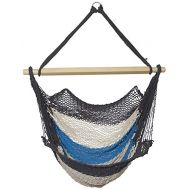 Sol Living EN-OL-MH002 Hammock Swing, Teal/White/Grey
