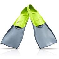 Speedo Rubber Swim Fins, Multi, X-Small