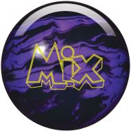 Storm Bowling Products Storm Mix Urethane Bowling Ball- BlackPurple Solid