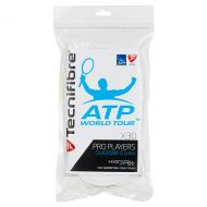Tecnifibre Pro Players Tennis Overgrip 30 Pack White