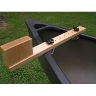 Top Quality Canoe Trolling Motor Mounting Bracket Multi-Position with Natural Ash Finish