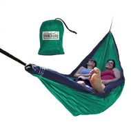 Trek Light Gear Double Hammock - The Original Brand Lightweight Nylon Hammocks - Use for All Camping, Hiking, and Outdoor Adventures