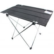 Trekology ASHVIEE Easy Table, Ultralight Camping Table, Portable Light Weight Folding for Outdoor Activities (BLACK)