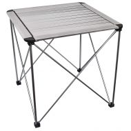 Trekology Renwong Portable Folding Side with Aluminum Hard-Topped Camp Table for Picnic Camping Beach Boat