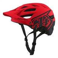 Troy Lee Designs A1 Classic Adult All-Mountain Bike Helmet with MIPS & TLD Shield Logo (RedBlack, XSmall)