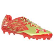 Under Armour UNDER ARMOUR MENS FOOTBALL CLEATS TEAM NITRO LOW MC RED GOLD WHITE 15 M