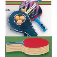 Vikram Sports 2018 NewBest Table Tennis Racket - 5 STAR with cover and 3 balls by at Factory Direct Price