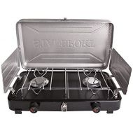 Stansport 2 Burner Regulated Propane Stove (10,000 BTUs)