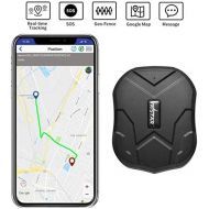 XCSOURCE GPS Tracker Long Standby Car Locator GPS Tracker Free App Strong Magnet for Vehicle GPS Tracking Real Time Tracking Device Anti Lost Geo Fence Car Tracker for Cars SUV Motorcycles