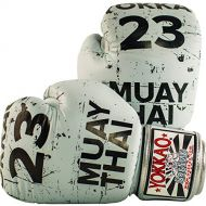 YOKKAO Urban Muay Thai Boxing Gloves Grey, Kick Boxing, MMA, Martial Arts Official Store
