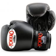 YOKKAO Matrix Black Muay Thai Boxing Gloves, Kick Boxing, MMA, Martial Arts Official Store